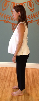 Good Standing Posture during pregnancy