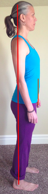 SI compression with poor standing posture
