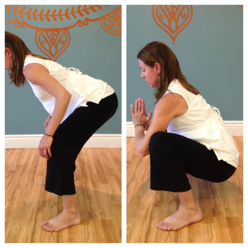 Deep Squatting during pregnancy