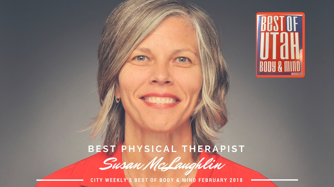 Susan McLaughlin Voted Best Physical Therapist in Utah by City Weekly